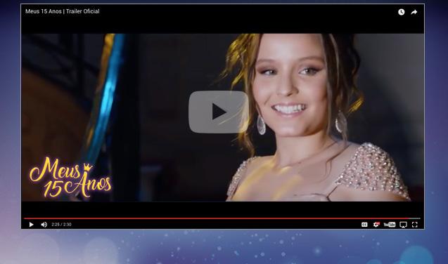 Vídeo de Meus 15 anos, de Luiza Trigo