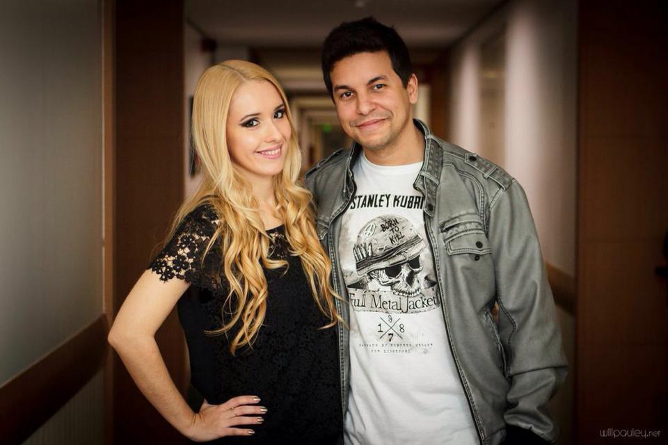 Carolina Munhóz e Raphael Draccon