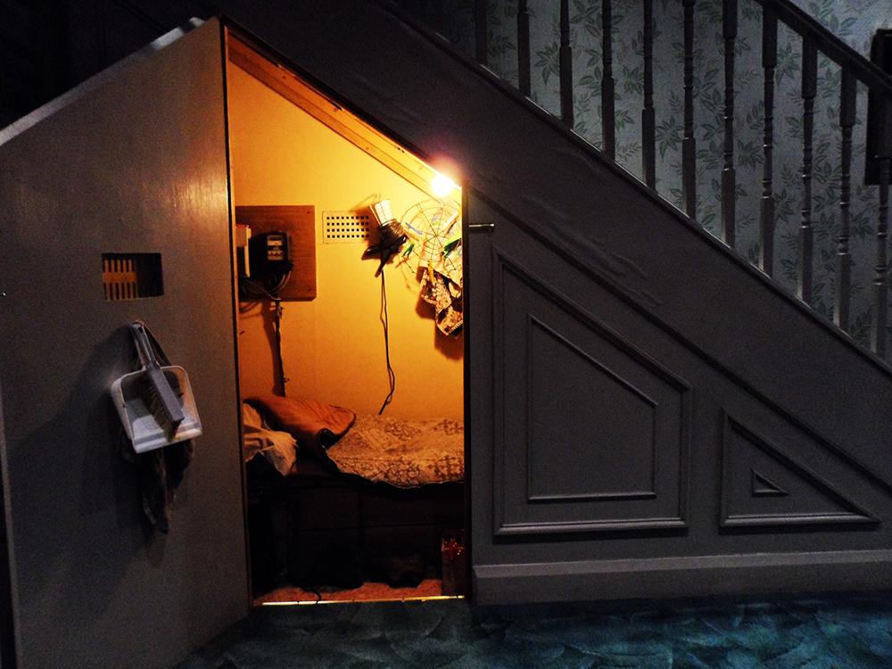 harry potter escada