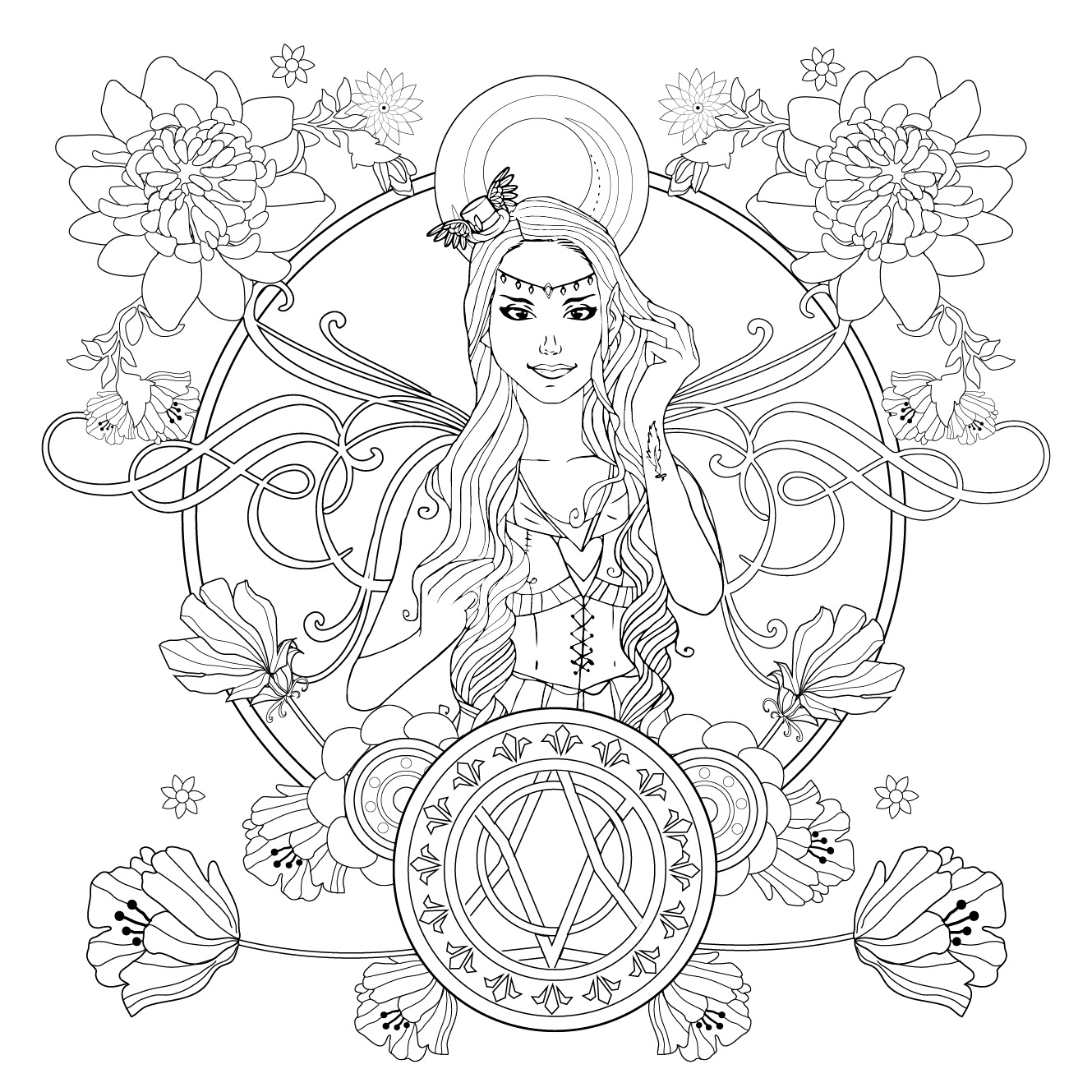 O reino secreto: capa + ilustrações | Rocco