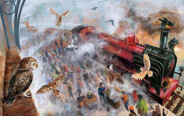 Versão ilustrada de Harry Potter e a Pedra Filosofal