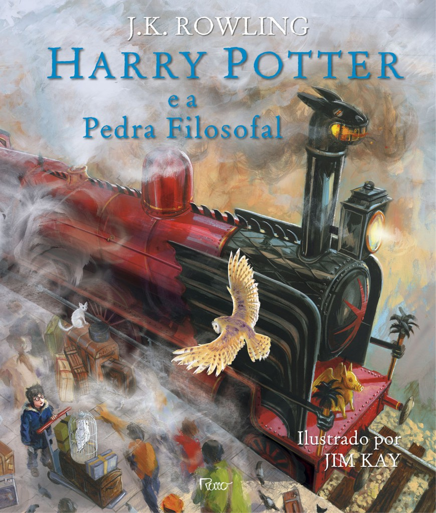 Harry Potter ilustrado_capa