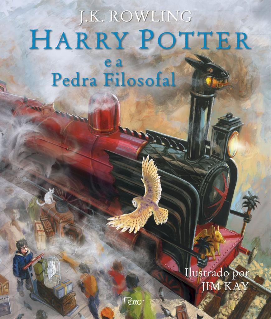 Harry Potter ilustrado_capa