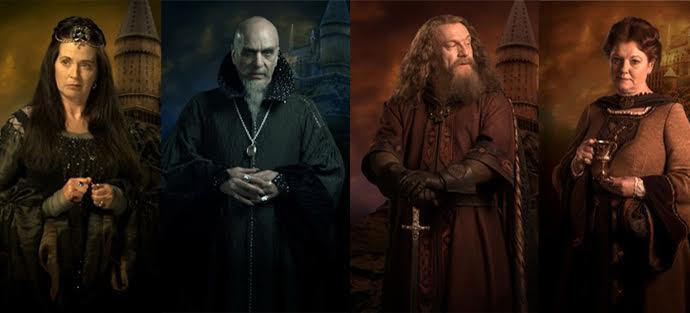 Os primeiros professores de Hogwarts