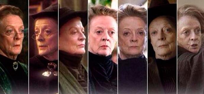 McGonagall, rainha. O resto, nadinha