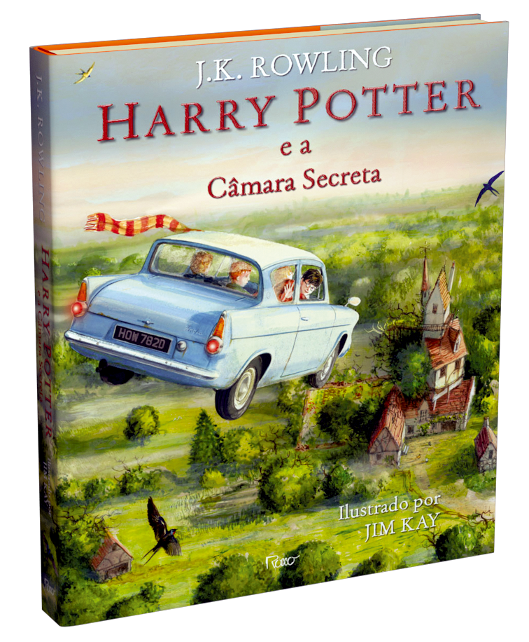 book 3D hp 2 ilustrado