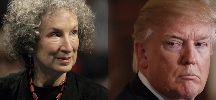 Margaret Atwood: Diálogos entre Era Trump e República Gilead