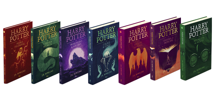 Resultado de imagem para Harry potter livros