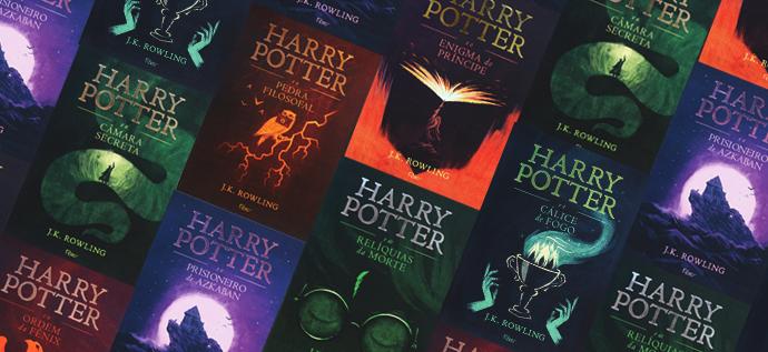 Harry Potter em capa dura e novas ilustrações – Pré-venda