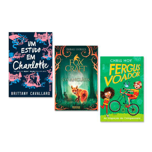 laçamentos de janeiro e fevereiro três livros capas de um estudo em charlotte foxcraft os anciões e fergus voador numero 4