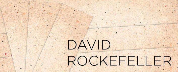 Imagem de DAVID ROCKEFELLER