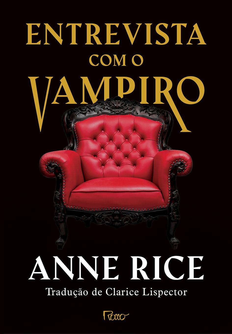 Capa de Entrevista com o vampiro (capa dura)