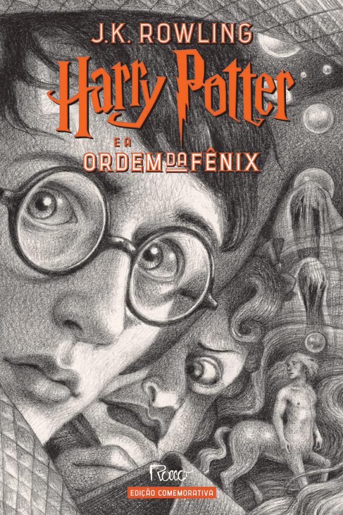Harry Potter e a Ordem da Fênix (CAPA DURA) – Edição Comemorativa dos 20 anos de Harry Potter