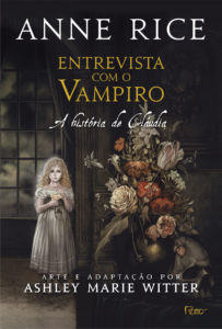 Capa de Entrevista com o vampiro: a história de Claudia