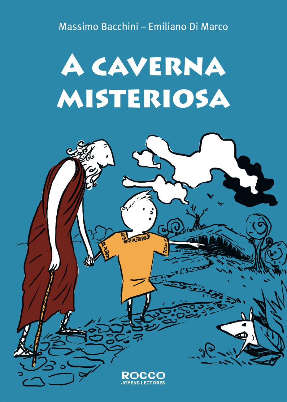 Capa de A Caverna Misteriosa