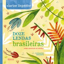 Capa de Doze lendas brasileiras (capa dura)