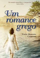 Capa de Um romance grego