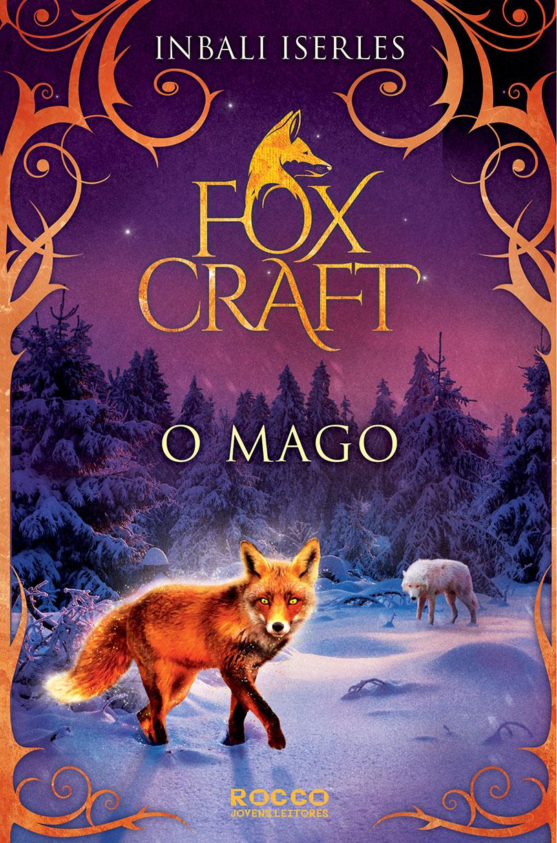 Capa de Foxcraft: o mago