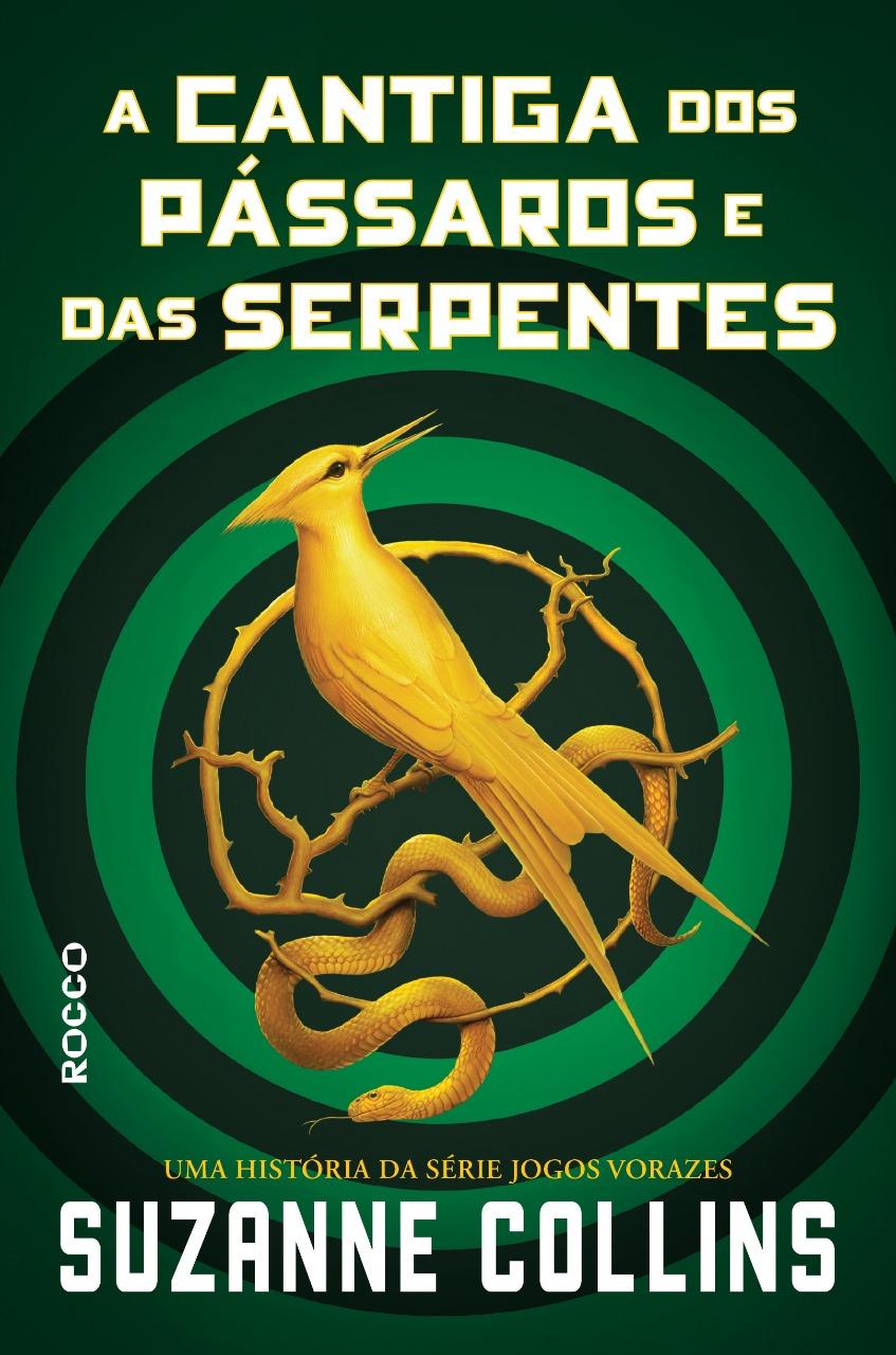 Capa de A cantiga dos pássaros e das serpentes