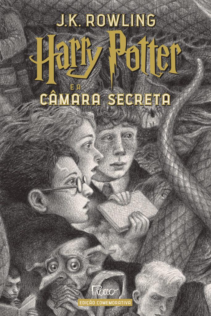(CAPA DURA) Harry Potter e a câmara secreta – Edição Comemorativa dos 20 anos de Harry Potter