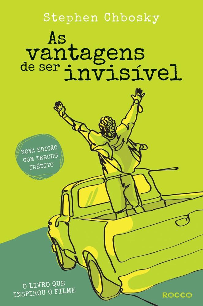 Capa de As vantagens de ser invisível - nova edição