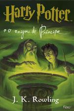 Capa de Harry Potter e o Enigma do Príncipe