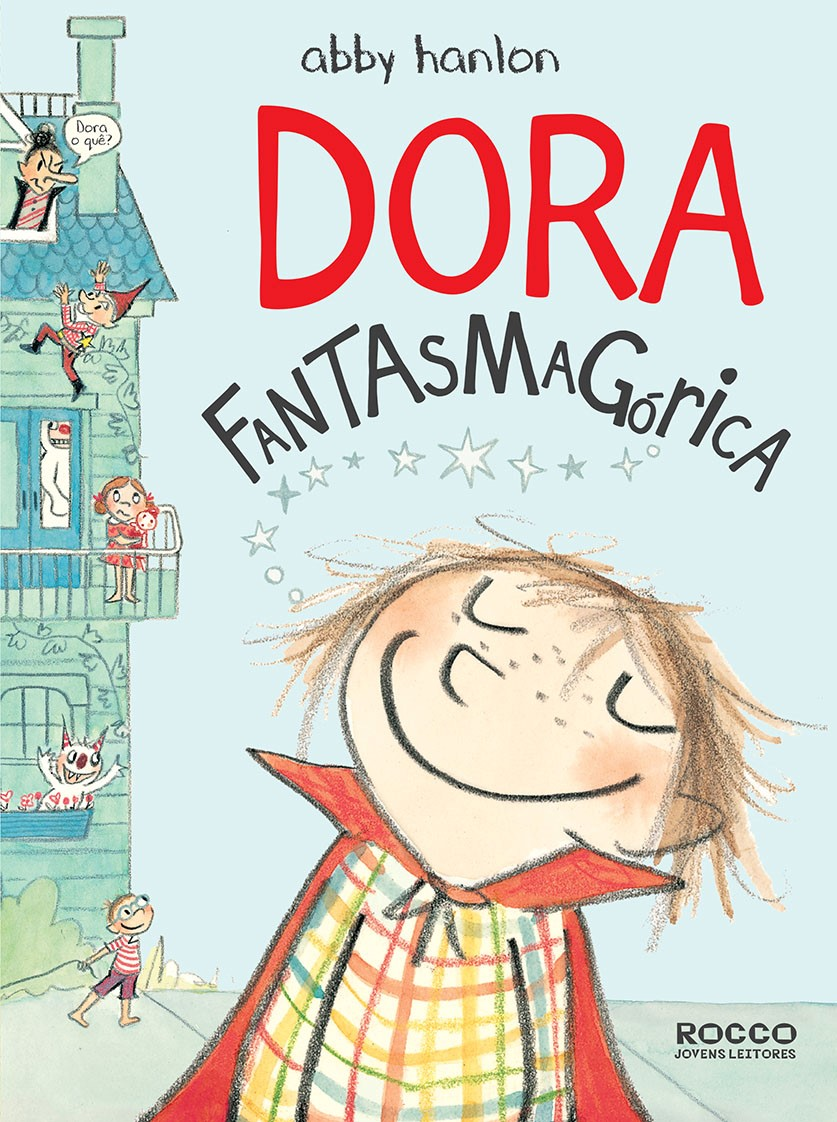 Capa de Dora fantasmagórica