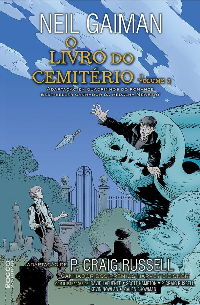 Capa de O livro do cemitério - Volume 2