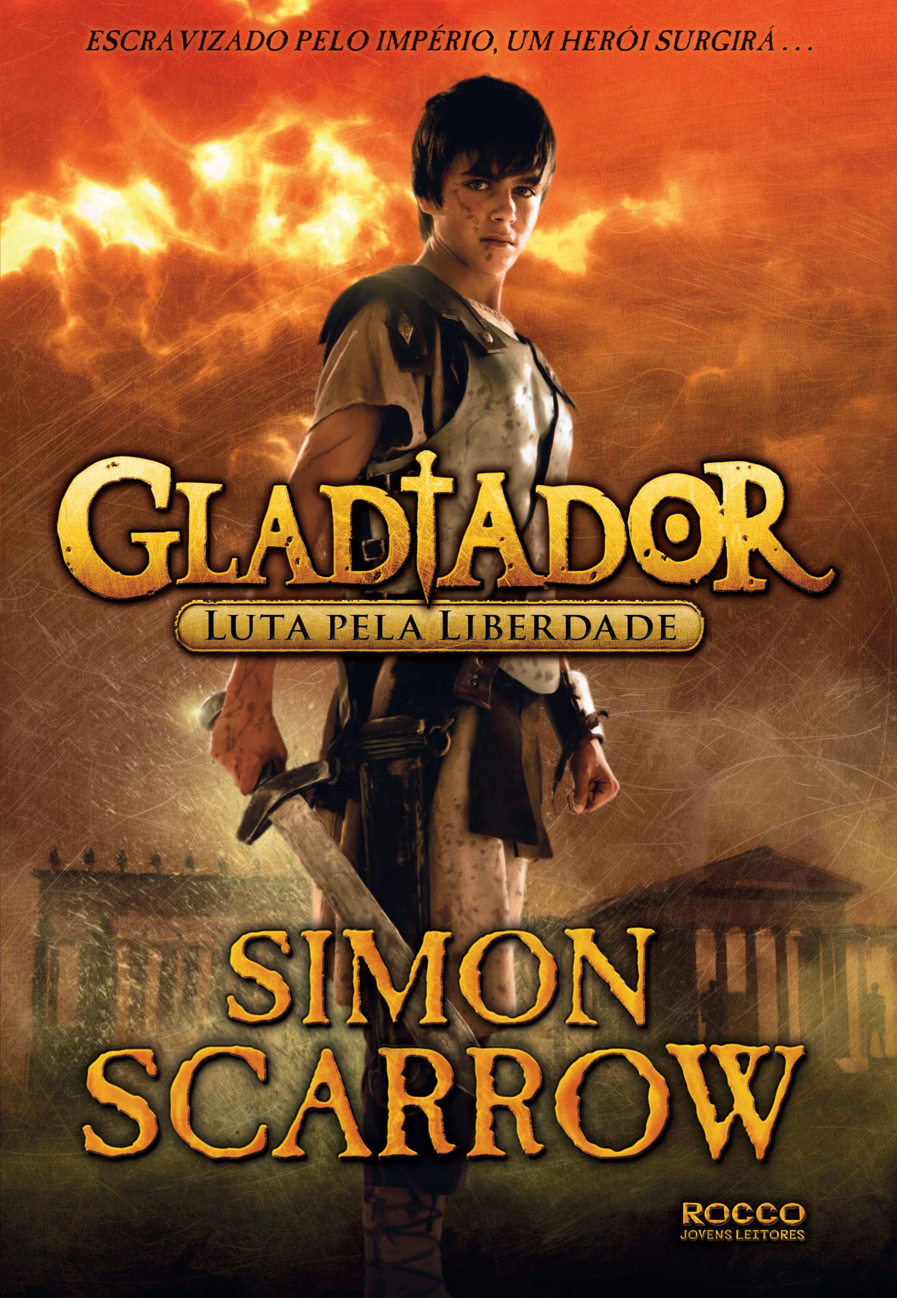 Capa de Gladiador - Luta pela Liberdade