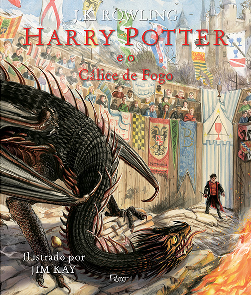Harry Potter e o cálice de fogo – Ilustrado