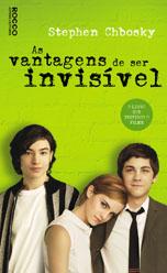 Capa de As Vantagens de Ser Invisível