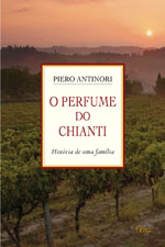 Capa de O Perfume do Chianti