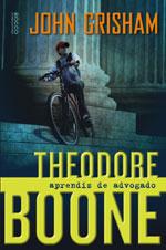 Capa de Theodore Boone - Aprendiz de Advogado